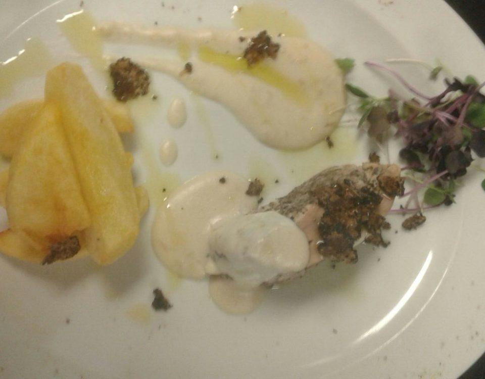 Filetto lardellato al tartufo Manuelina